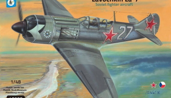 1/48 Lavochkin La-7 3 Cannon version