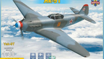 1/48 Yak-9 T Soviet WWII fighter