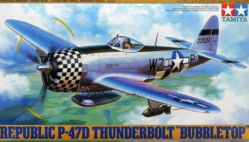 Republic P-47D Thunderbolt Bubbletop (1:48) - Tamiya