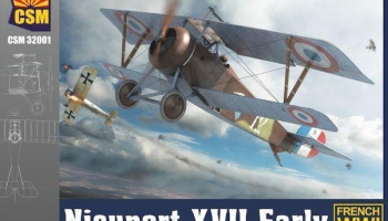 Nieuport XVII Early version 1/32 - Copper State Models