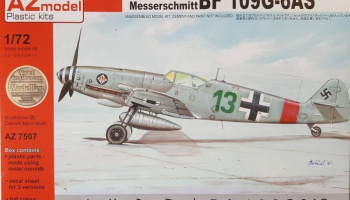 1/72 Bf 109G-6AS Hohenjager