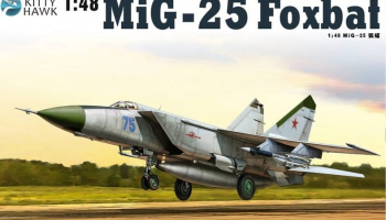 MiG-25 PD / PDS Foxbat (1:48) - Kitty Hawk