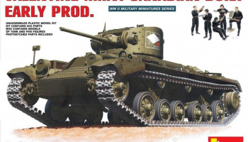 1/35 Valentine Mk 6. Canadian – built Early Prod.