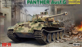 Panther Ausf.G Early / Late Production 1/35 - RFM