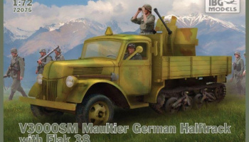 1/72 V3000S/SS M Maultier with Flak 38