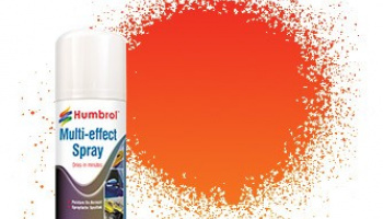 Humbrol sprej akryl AD6212 - Red Multi-Effect Spray
