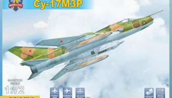 1/72 Sukhoi-Su-17M3R Reconn fighter-bomber with KKP pod