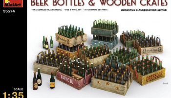 Beer Bottles & Wooden Crates 1/35 – MiniArt