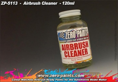 Airbrush Cleaner 120ml - Zero Paints