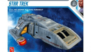 Star Trek DS9 Rio Grande Runabout 1:72 Scale Model Kit - AMT
