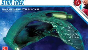 Star Trek The Next Generation Romulan Warbird D'Deridex Class Battle Cruiser 1/3200 - AMT