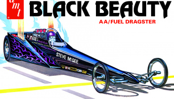 Steve McGee Black Beauty Wedge Dragster 1/25 - AMT