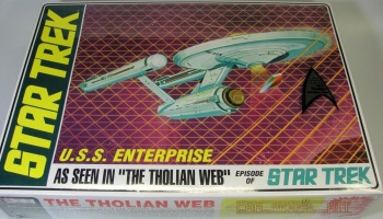 Star Trek TOS Enterprise Tholian Web Ed - AMT