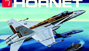 F/A-18A Hornet Fighter Jet 1:48 - AMT