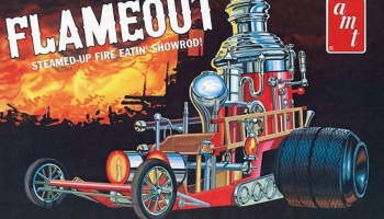 Flameout Show rod 1/25  - AMT