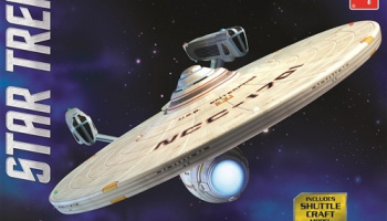 Star Trek USS Enterprise NCC1701 Refit 1/537 - AMT