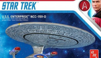 Star Trek The Next Generation USS Enterprise NCC1701D (Snap) 1/2500 - AMT