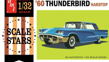 Ford Thunderbird Hardtop Car 1960 - AMT
