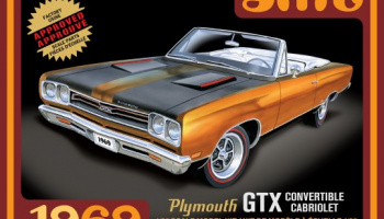 Plymouth GTX Convertible Car 1969 - AMT