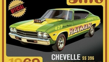 Chevelle SS396 Car 1969 - AMT