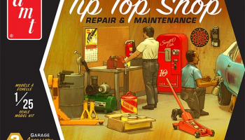 Tip Top Shop Repair & Maintenance Garage Accessory Set #2 - AMT