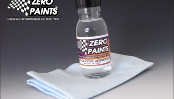 Anti-Silicone Degreaser / Panel Wipe - 60ml - Zero Paints