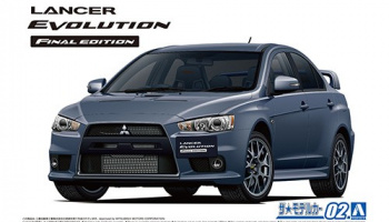 MITSUBISHI CZ4A LANCER EVOLUTION X FINAL EDITION '15 1/24 - Aoshima