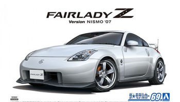 NISSAN Z33 FairladyZ Version Nismo '07 1/24 - Aoshima