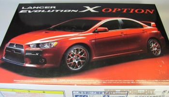 Mitsubishi Lancer Evolution X Option - Aoshima