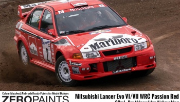 Mitsubishi Lancer Evo VI WRC Passion Red - Zero Paints