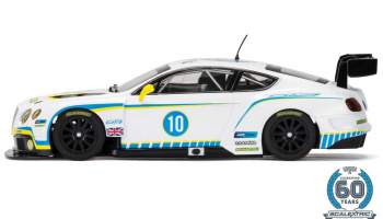 Bentley Continental GT3 (1:32) 60th Anniversary Collection SCALEXTRIC C3831A - Car No.1 - 2010s,