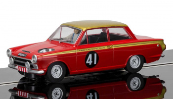 Ford Lotus Cortina 1965 ETCC 500km (1:32) - Circuit SCALEXTRIC C3870