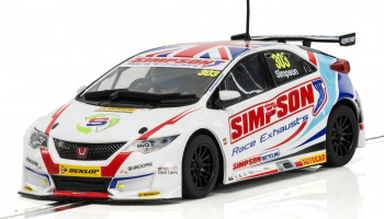 Honda Civic Type R NGTC – BTCC 2017 Matt Simpson (1:32) - Circuit SCALEXTRIC C3915