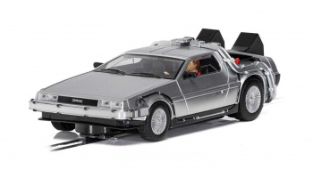 Autíčko Film & TV SCALEXTRIC C4117 - DeLorean - 'Back to the Future' (1:32)