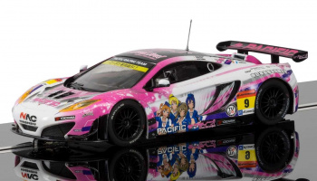McLaren 12C GT3, Pacific Racing (Anime) (1:32) GT SCALEXTRIC C3849
