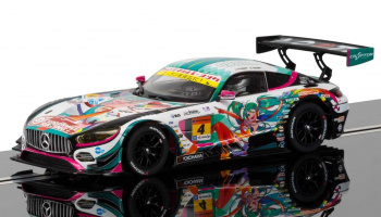 Mercedes AMG GT3 (Anime) - NEW TOOLING (1:32) GT SCALEXTRIC C3852