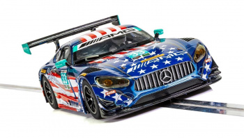 Mercedes AMG GT3 - Riley Motorsports Team (1:32) GT SCALEXTRIC C4023