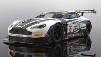 Autíčko GT SCALEXTRIC C4027 - Aston Martin GT3 - British GT 2018 - Flick Haigh, Johnny Adam (1:32)