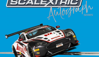Autograph Series Aston Martin Vantage GT3 (TF Sport) – Jonny Adam, Derek Johnston (1:32) Limited Edition SCALEXTRIC C3844AE