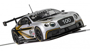 Autíčko Limited Edition SCALEXTRIC C4057A - Bentley Continental GT3 - Centenary Edition (1:32)