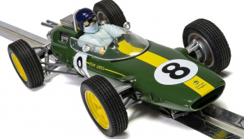 Autíčko Limited Edition SCALEXTRIC C4068A - Lotus 25, Jim Clark Monza 1963 First World Championship (1:32)