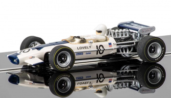 Lotus 49 - Pete Lovely (1:32) Single Seaters SCALEXTRIC C3707