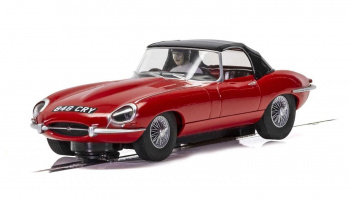 Jaguar E-Type - Red 848CRY (1:32) Street - SCALEXTRIC C4032