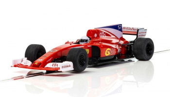 Red Stallion F1 Car [NEW TOOLING 2018] (1:32) - Super Resistant SCALEXTRIC C3958