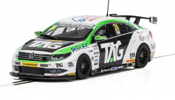 VW Passat CC NGTC Team HARD - BTCC 2017 Jake Hill (1:32) - Touring SCALEXTRIC C3918