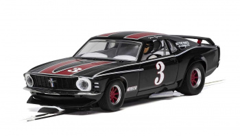 Ford Mustang Trans Am 1972 - John Gimbel (1:32) Touring - SCALEXTRIC C4014