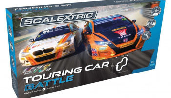 Autodráha SCALEXTRIC C1372 - BTCC Touring Car Battle Set (1:32)