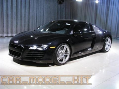 Audi R8 - Phantom Black - Zero Paints