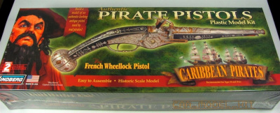 Authentic Pirate Pistols - The French Wheellock - Lindberg