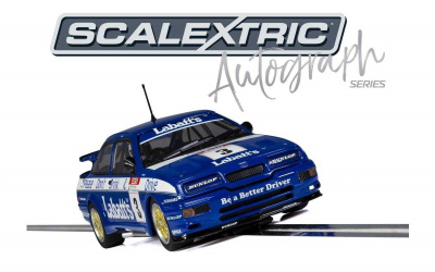 Autograph Series Ford Sierra RS500 Tim Harvey (1:32) Limited Edition SCALEXTRIC C3867AE